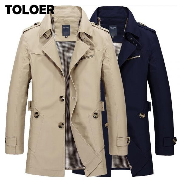 Casual Winter Trench Coat